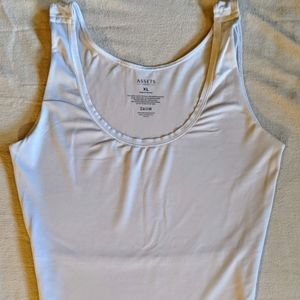 Assets by Spanx Cami Tank Top Womens XL Cream